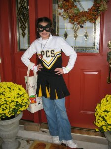 Abby trick or treat